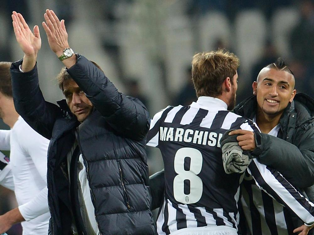 Conte and Marchisio have worked together at Juventus and Italy (Getty)