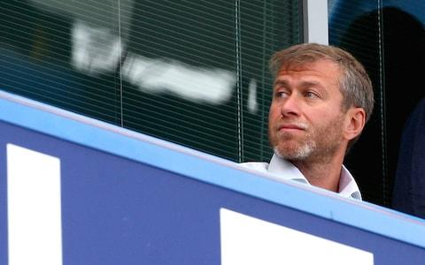 Abramovich at Chelsea at the start of the season - Credit: Phil Cole
