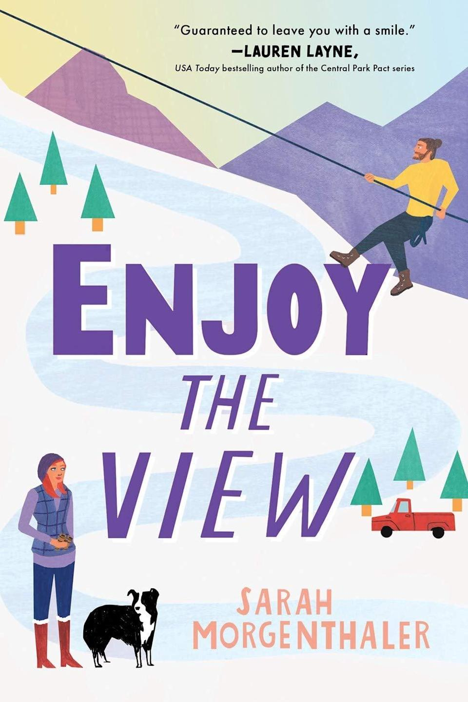 <p>Sarah Morgenthaler returns to Moose Springs, Alaska for a third round of quirky small town fun and unexpected romance in <span><strong>Enjoy the View</strong></span>. This time around, former Hollywood sweetheart River Lane arrives in Alaska to film a documentary that she believes will save her career. The only trouble is, the locals aren't interested in talking to her and her guide Easton Lockett is proving to be quite distracting. </p> <p><em>Out Jan. 19</em></p>