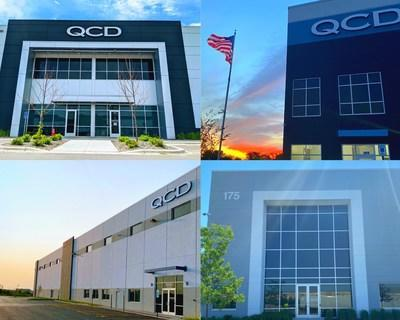 QCD initiated operations at four newly built facilities, including two locations in Chicago, Illinois; one location in Indianapolis, Indiana; and one location in Minneapolis, Minnesota.