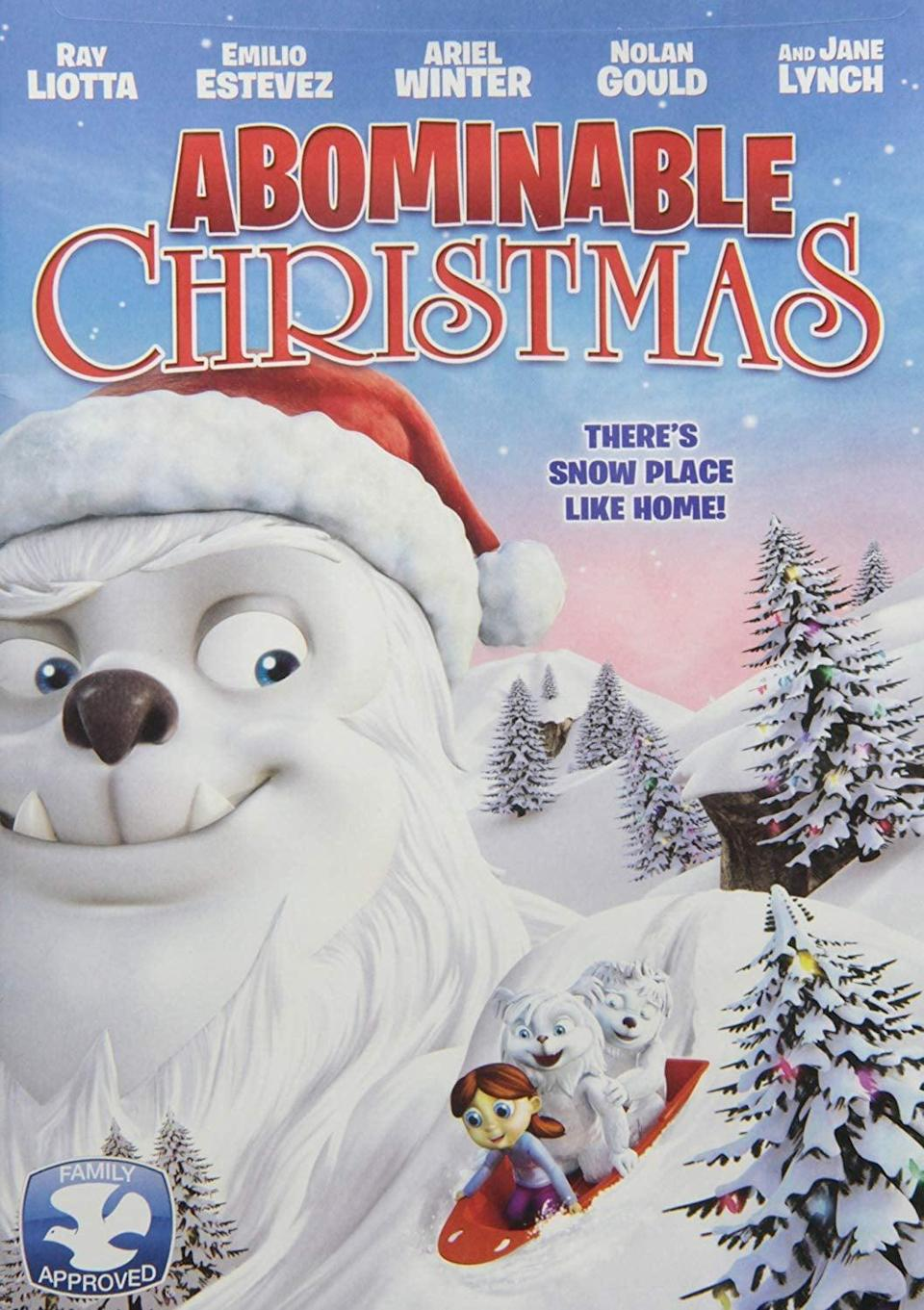 """<p><strong>Netflix description:</strong> """"Two small abominable snowmen flee their mountain to escape a scientist who's trying to capture them and end up spending Christmas with a human family.""""</p> <p><strong>Ages it's appropriate for:</strong> 3 and up</p> <p><strong>Watch it here:</strong> <a href=""""https://www.netflix.com/title/70307570"""" class=""""link rapid-noclick-resp"""" rel=""""nofollow noopener"""" target=""""_blank"""" data-ylk=""""slk:Abominable Christmas""""><strong>Abominable Christmas</strong></a></p>"""