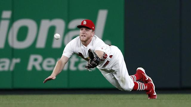 Cardinals rally late to blow out Brewers 9-4 at Busch Stadium