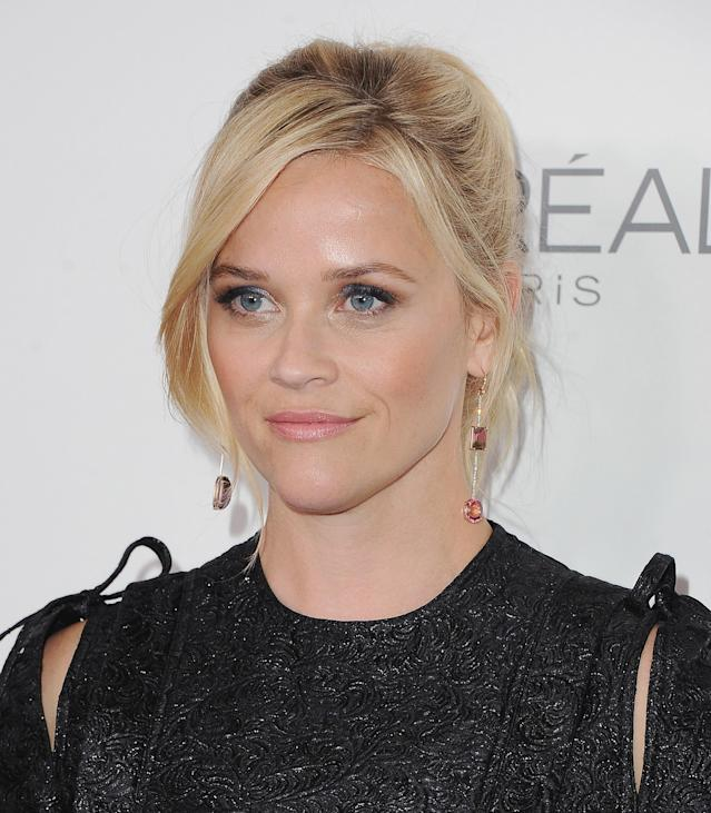 Reese Witherspoon at <em> Elle</em>'s 24th Women in Hollywood celebration on Oct. 16. (Photo: Getty Images)