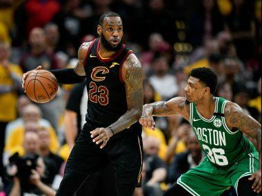 In unleashing his sixth 40-point performance of this year's playoffs, LeBron James rose to second on the all-time 40 or more playoff game list.