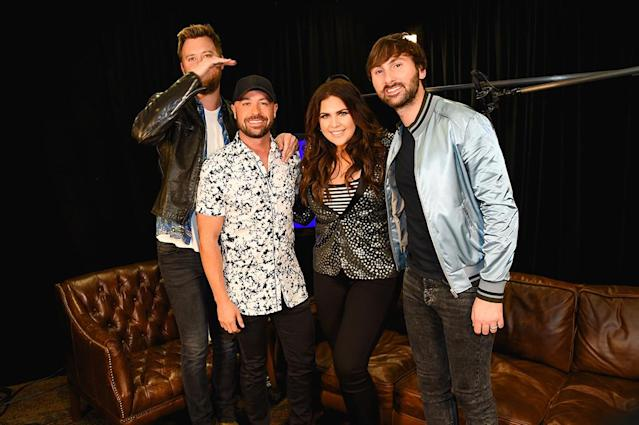 <p>Lady Antebellum and Cody Alan attends the 2017 iHeartCountry Festival, A Music Experience by AT&T at The Frank Erwin Center on May 6, 2017 in Austin, Texas. (Photo: Rick Kern) </p>
