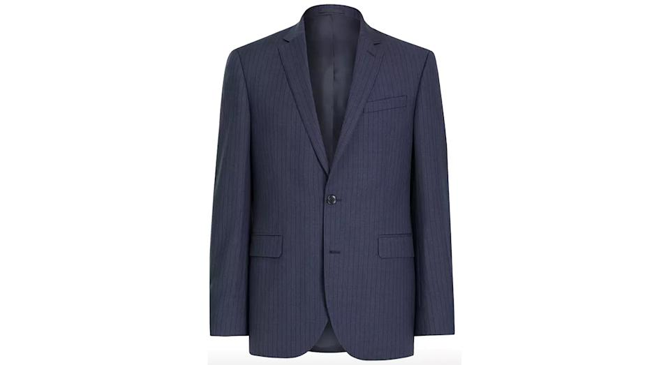 John Lewis & Partners Wide Stripe Tailored Suit Jacket