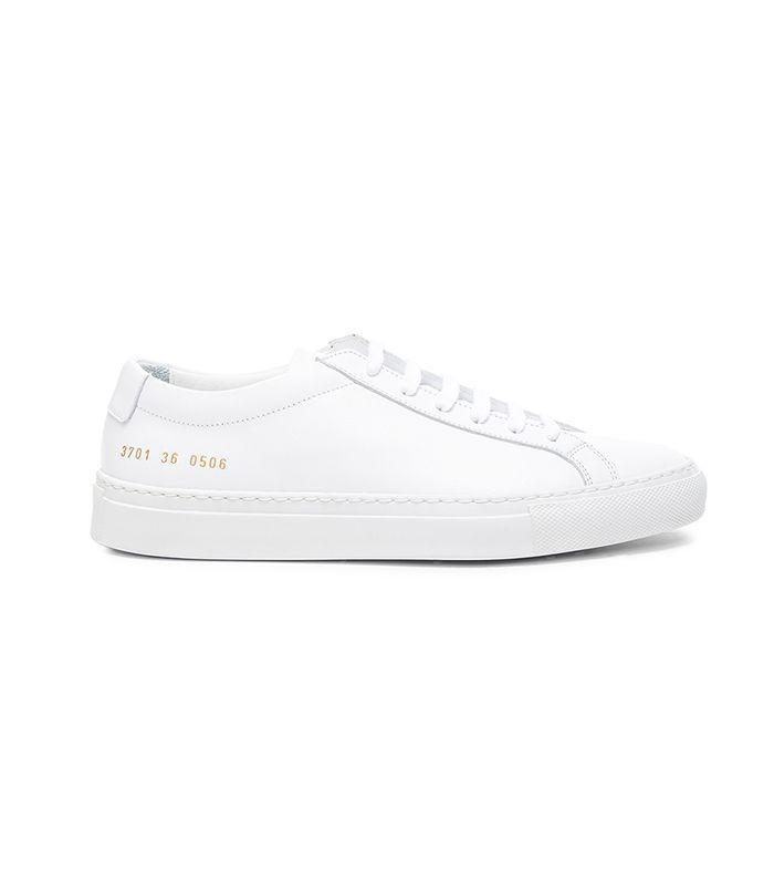 One of our favorite pairs of white sneakers.