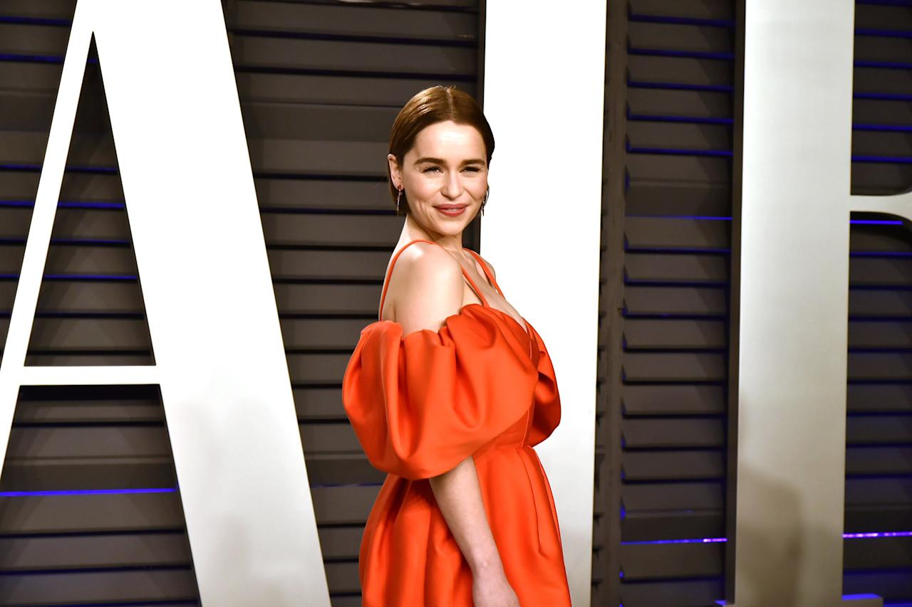 """<p>Emilia Clarke conquered our hearts for almost a decade on <em>Game of Thrones</em> as the powerful, regal beauty Daenerys Targaryen. And though she embodied the grace and elegance of a Mother of Dragons with ease and not much makeup at all on screen, she <a href=""""https://www.womenshealthmag.com/beauty/a27021541/emilia-clarke-game-of-thrones-skincare/"""" target=""""_blank"""">revealed</a> that achieving that effortless Targaryen glow was actually anything but. The process of preparing her skin for the role actually took many facials and extensive treatments like chemical peels, microneedling, and facial massage to be deemed <em>khaleesi-</em>worthy. That could be her secret behind these glowing no makeup selfies. Scroll down and see for yourself. </p>"""