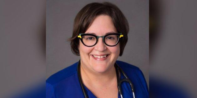 Laval general practitioner Elisa Pucella is one of the hundreds of doctors protesting their own pay raises, saying they want the money to go towards a better health-care system.