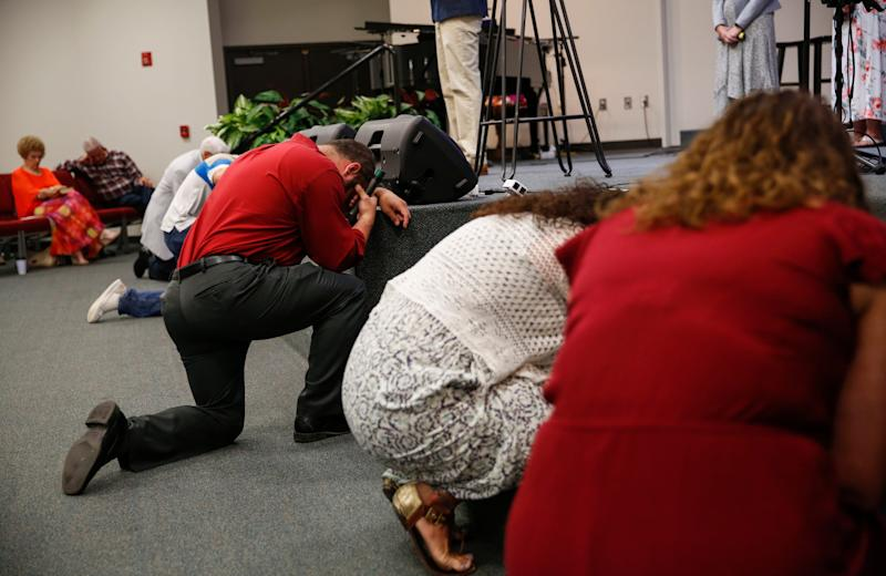 'We are one': Community vows to heal as police investigate motive for West Texas shootings