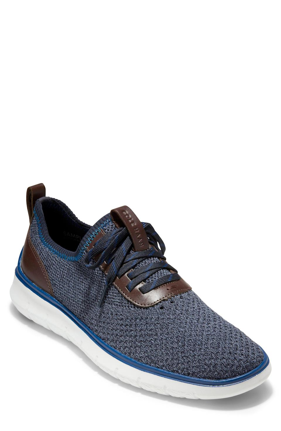 """<p><strong>COLE HAAN</strong></p><p>nordstrom.com</p><p><a href=""""https://go.redirectingat.com?id=74968X1596630&url=https%3A%2F%2Fwww.nordstrom.com%2Fs%2Fcole-haan-generation-zerogrand-stitchlite-sneaker-men%2F5266591&sref=https%3A%2F%2Fwww.esquire.com%2Fstyle%2Fmens-fashion%2Fg37002225%2Fnordstrom-anniversary-sale-mens-fashion-deals-2021%2F"""" rel=""""nofollow noopener"""" target=""""_blank"""" data-ylk=""""slk:Shop Now"""" class=""""link rapid-noclick-resp"""">Shop Now</a></p><p><strong>Sale: </strong><strong>$66.90</strong></p><p><strong>After Sale: $100.00</strong></p><p>The ZeroGrand will take you from, well, zero to hero—just like that. </p>"""