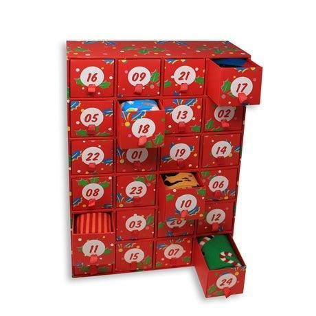 "<h3>Shop PBS Limited Edition Advent Calendar Women's Socks</h3><br>For a truly wild experience, this festive box of 24 holiday-themed socks is basically the ""ugly Christmas sweater"" of advent calendars.<br><br><strong>Shop PBS</strong> Limited Edition Advent Calendar Women's Socks, $, available at <a href=""https://go.skimresources.com/?id=30283X879131&url=https%3A%2F%2Fshop.pbs.org%2FWA1672.html"" rel=""nofollow noopener"" target=""_blank"" data-ylk=""slk:Shop PBS"" class=""link rapid-noclick-resp"">Shop PBS</a>"