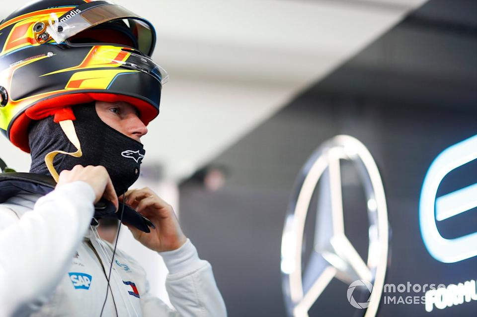 "Stoffel Vandoorne, Mercedes Benz EQ<span class=""copyright"">Alastair Staley / Motorsport Images</span>"
