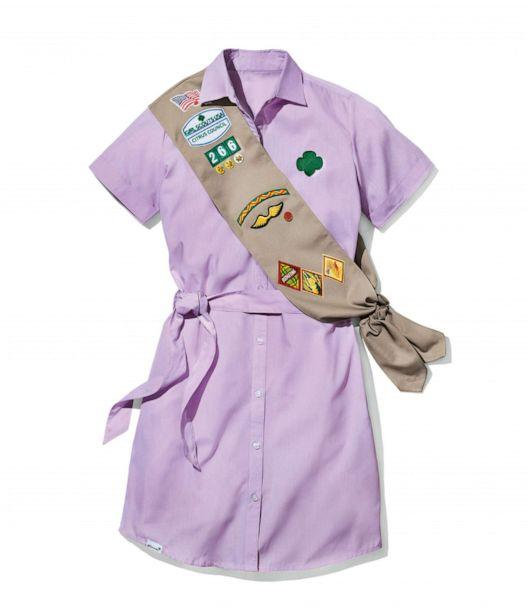 PHOTO: Updated 2020 Scout uniforms are shown in an undated photo released by the Girl Scouts of the USA. Aug. 25, 2020. (Girl Scouts of the USA)