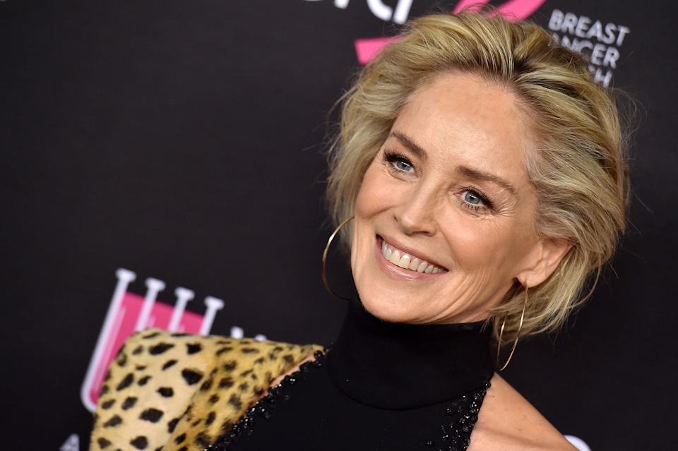 Sharon Stone says she's done dating. (Photo: Axelle/Bauer-Griffin via Getty Images)