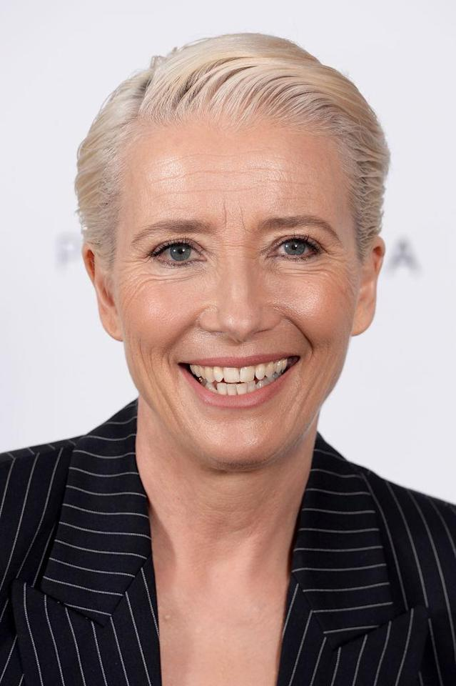 Emma Thompson attends a screening of <em>King Lear</em> at the Soho Hotel, March 28, 2018, in London. (Photo: Getty Images)