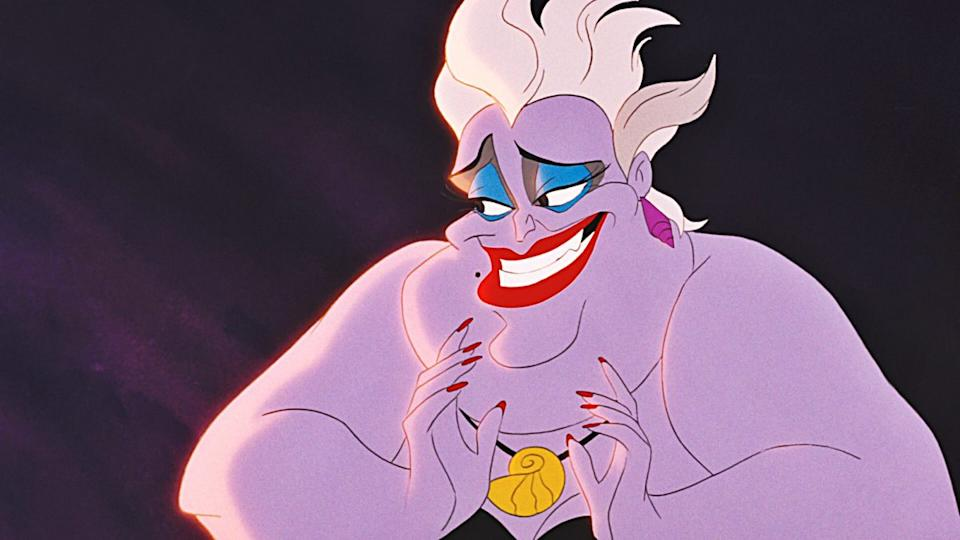 Ursula was voiced by Pat Carroll in the animated film
