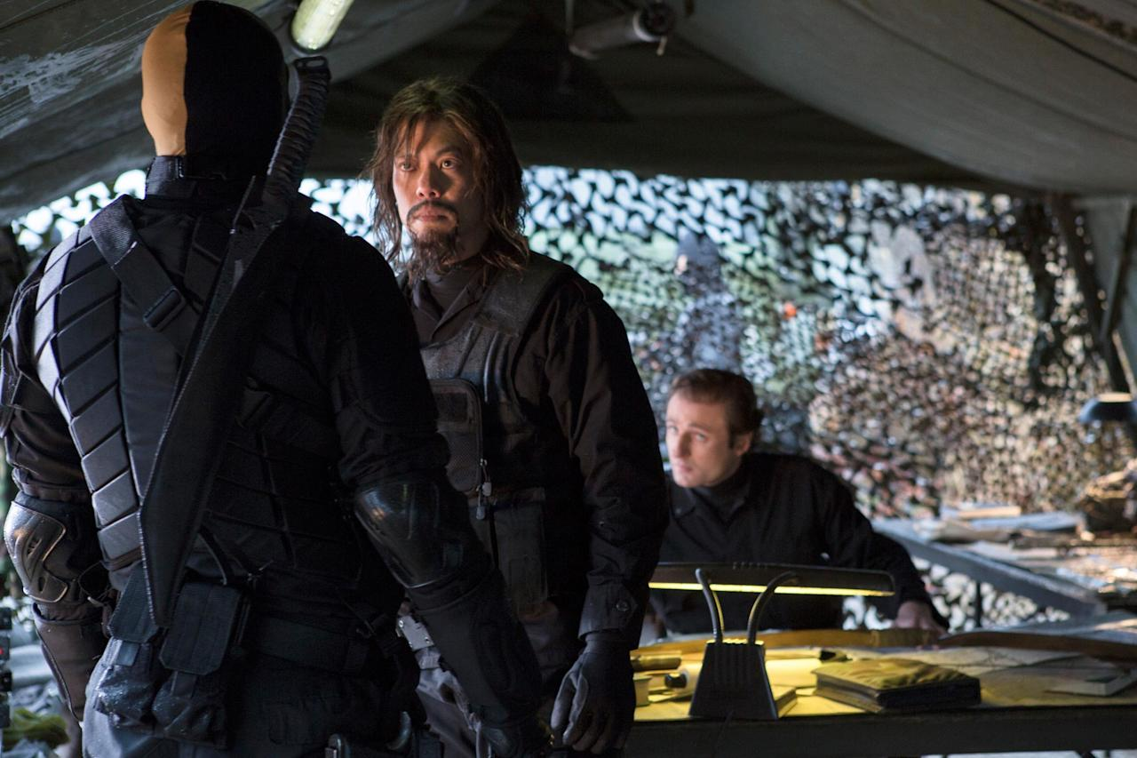 The<em>Wu Asssassins</em>and<em>Expanse</em> star will reprise his role as Yao Fei, Oliver Queen's mentor who trained and helped him survive when he first landed on Lian Yu.