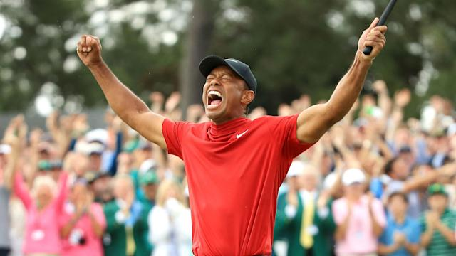 Fourteen years on from his last triumph at Augusta National, Tiger Woods won the Masters for a fourth time on Sunday.