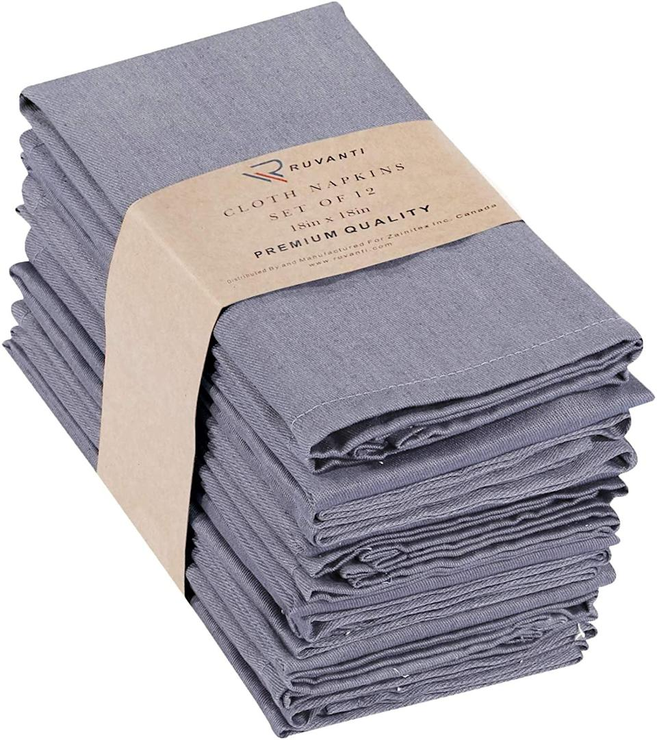 <p><span>Kitchen Cloth Napkins</span> ($16, originally $17)</p>