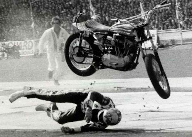 Evel Knievel Motorcycle Daredevil Jumper On His Harley: Doug Danger Will Attempt 22 Car Evel Knievel Jump At Sturgis