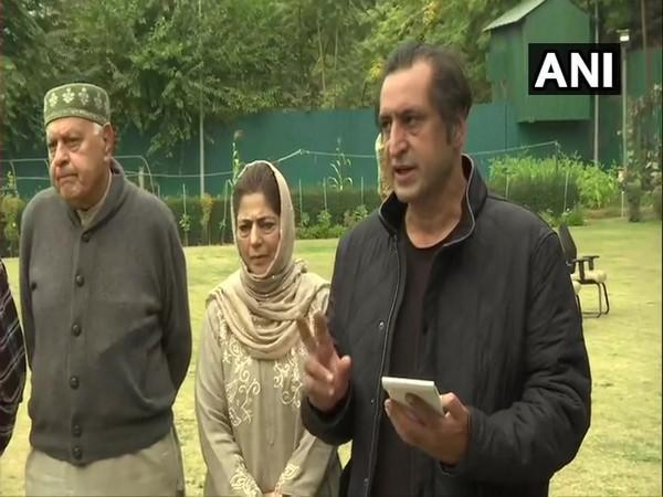 PAGD spokesperson Sajjad Lone (File photo)