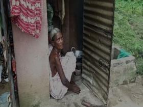 72-year-old tribal woman and her family live in toilet after failing to get accommodation from state