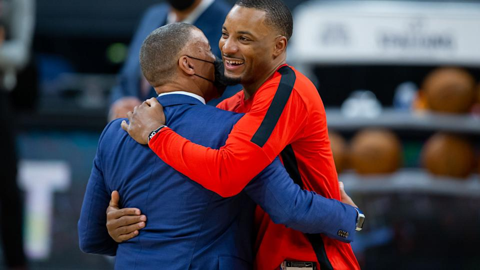 Norman Powell officially said goodbye to the Toronto Raptors and their fans in a moving essay for The Players' Tribune. (Mary Holt-USA TODAY Sports)
