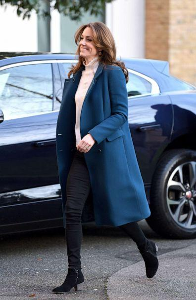 PHOTO: Catherine, Duchess of Cambridge visits LEYF Stockwell Gardens Nursery & Pre-School on Jan. 29, 2020 in London. (Karwai Tang/WireImage/Getty Images)