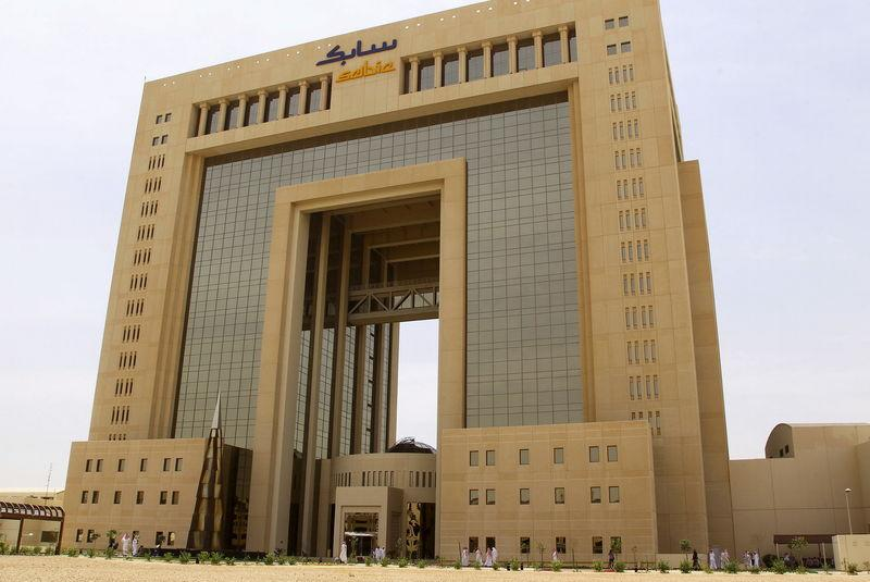 The headquarters of Saudi Basic Industries Corp (SABIC) is seen in Riyadh, Saudi Arabia