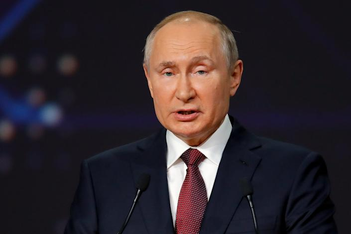<p>Russia Putin</p> (Copyright 2021 The Associated Press. All rights reserved)