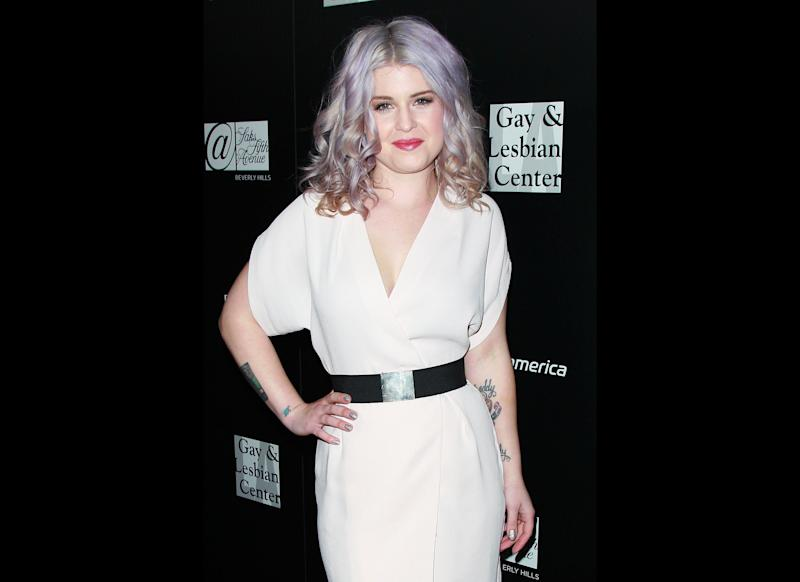 """TV personality Kelly Osbourne (tattoo detail) attends the L.A. Gay & Lesbian Center's """"An Evening"""" benefiting homeless youth services at Sunset Tower on January 23, 2012 in West Hollywood, California. (David Livingston, Getty Images)"""