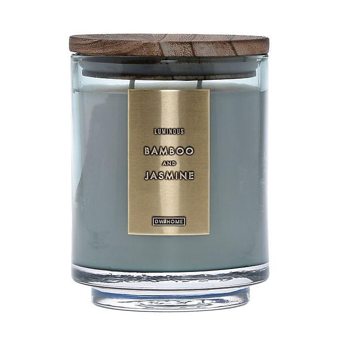 <p>The <span>DW Home Bamboo and Jasmine Wood-Accent</span> ($20) is a candle that doubles as home decor.</p>