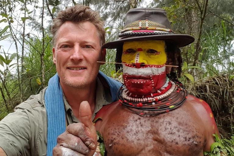 British explorer Benedict Allen says he 'did not need rescuing' after being pulled from Papua New Guinea jungle
