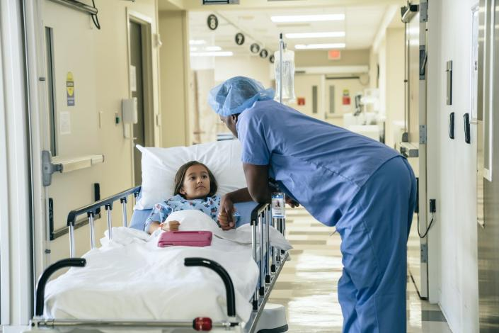 """<span class=""""caption"""">Silver loading is still available to other states.</span> <span class=""""attribution""""><a class=""""link rapid-noclick-resp"""" href=""""https://www.gettyimages.com/detail/photo/doctor-holding-hand-of-girl-in-hospital-gurney-royalty-free-image/925542186?adppopup=true"""" rel=""""nofollow noopener"""" target=""""_blank"""" data-ylk=""""slk:Getty Images / FS Productions"""">Getty Images / FS Productions</a></span>"""