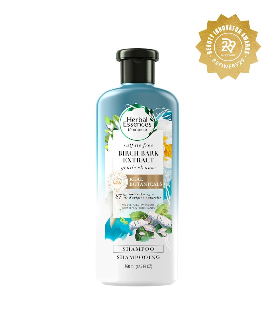 """<h2>Herbal Essences Birch Bark Extract Sulfate-Free Shampoo</h2> <br>Wash day with this shampoo will be the closest thing to the beach in your bathroom — except, unlike saltwater, one rinse with this will make your hair feel like the softest silk.<br><br><strong>Herbal Essences</strong> Herbal Essences Bio:Renew Birch Bark Extract Shampoo, $, available at <a href=""""https://www.target.com/p/herbal-essences-bio-renew-birch-bark-extract-shampoo-12-2-fl-oz/-/A-75563374"""" rel=""""nofollow noopener"""" target=""""_blank"""" data-ylk=""""slk:Target"""" class=""""link rapid-noclick-resp"""">Target</a><br>"""