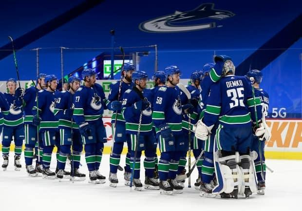 Multiple decisions lie ahead for a Vancouver Canucks franchise that has now missed the playoffs for the fifth time in six seasons. (Jeff Vinnick/NHLI via Getty Images - image credit)