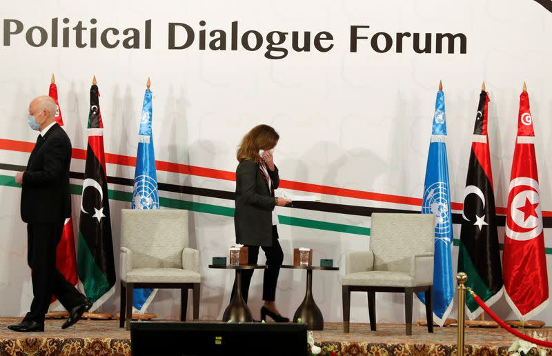Libyan negotiators meet in Tunis to prepare for elections