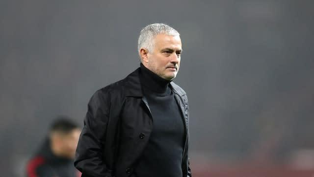 Jose Mourinho was sacked by Manchester United in December 2018 (Martin Rickett/PA)