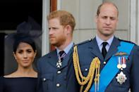 Prince Harry last year revealed that he had grown apart from his older brother William