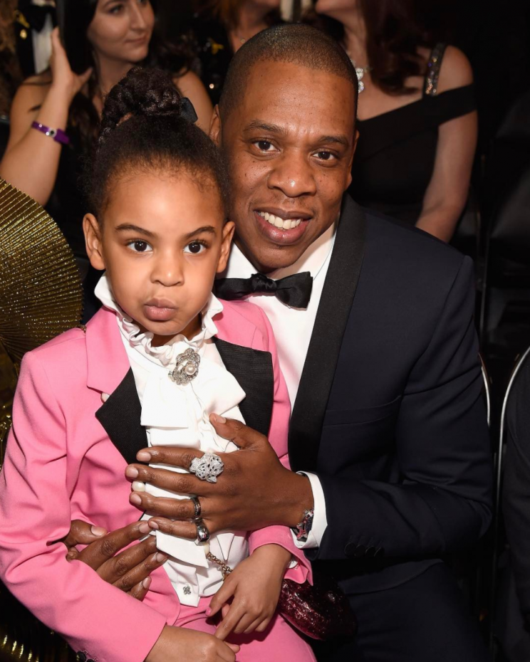 <i>Blue Ivy continues her reign as the best dressed celebrity child [Photo: Instagram/teenvogue]</i>
