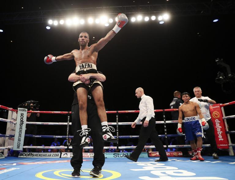 A long way from the brash big men of British boxing and the other loudmouths, fools, charlatans and fakes of the ring, there is a small man from Birmingham with a world title and five defences to his name.Khalid Yafai is eight stone and three pounds on the fighting scales, won the WBA super-flyweight title in December 2016 and has been on the road for nearly two years, ending the considerable ambitions of some good men in defence after defence. He retained his title over 12 rounds on Saturday night, an ugly brawl at times against his mandatory challenger on an undercard in Rhode Island. Five of Yafai's six world title fights have gone the full 12 rounds.He has slowly broken the hearts of boxers from Mexico, Panama and Japan, a trio of nations with a rich history of great little men, in Monte Carlo casinos, on stacked undercards where everybody other than the giants in the main event are invisible and in other out of the way venues. He has battled his way to 26 wins in 26 fights, never insulted anybody or complained about life on the edge of the glory. He is currently Britain's longest reigning world champion.In the 70s, 80s and 90s some of British boxing's biggest names, most iconic figures and wealthiest boxers biffed and bashed their way to world titles, attracting attention with each fight. The public knew their names, overlooked their flaws and remember now just the disjointed glory of so many spectacularly short periods as world champion. They get introduced nightly as world champion, legend and British great – mostly true – but there is seldom a sobering reminder of their tiny time under the spotlight.In the Seventies when John H Stracey and Alan Minter traveled far and wide to win their world titles, entering alien rings with hostile crowds, tricky referees and officials, they always had a devoted press pack in attendance to help make the fights unforgettable. No video, just words and a fight public desperate for news of the latest risk by the latest star. Mi