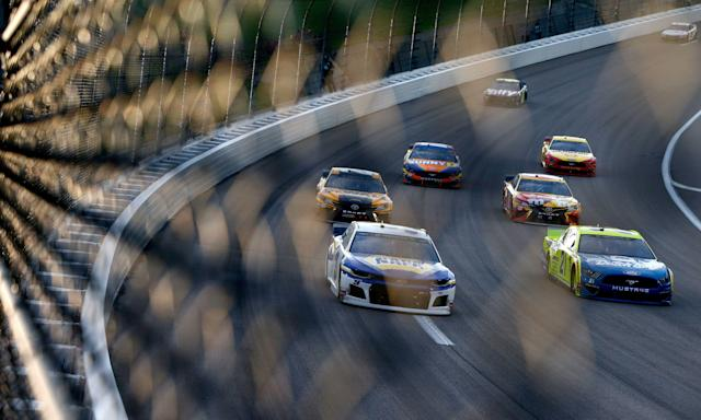Chase Elliott was fourth on Saturday night. (Getty Images)