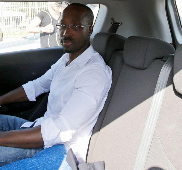 PHOTO:Rudy Guede leaves the Viterbo's penitentiary in Italy, June 25, 2016. (Gregorio Borgia/AP, FILE)