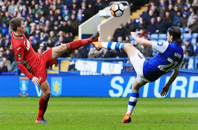 Sheffield Wednesday take Swansea to FA Cup fifth-round replay