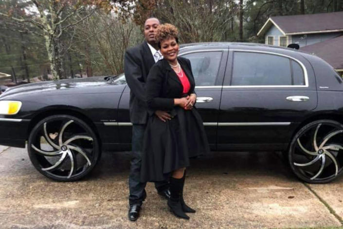 Image: Carlos Lynn with his wife Beverly (Courtesy Beverly Gamble)
