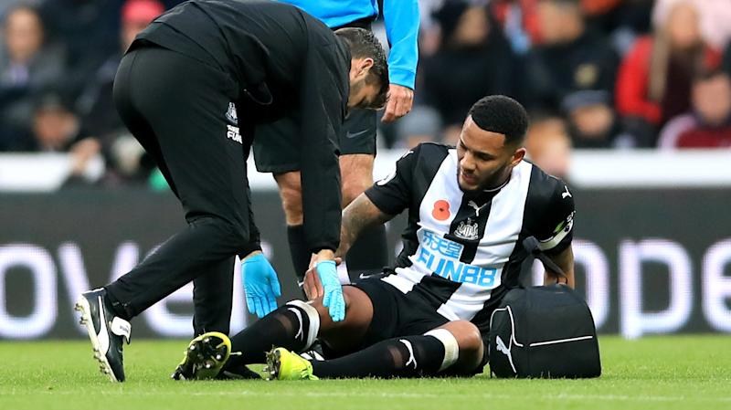 Newcastle skipper Jamaal Lascelles ruled out until 2020