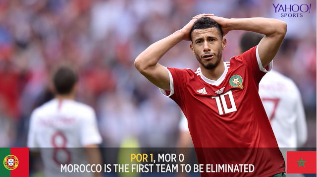 FC Yahoo's Ryan Bailey recaps the match, Morocco's previous history in the World Cup, and Cristiano Ronaldo scoring his 85th international goal.