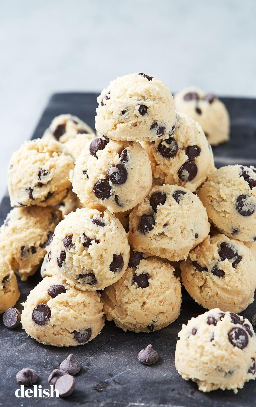 """<p>Because there's no one else you'd rather eat raw cookie dough with.</p><p>Get the recipe from <a href=""""https://www.delish.com/cooking/recipe-ideas/a19756323/cookie-dough-keto-fat-bombs-recipe/"""" rel=""""nofollow noopener"""" target=""""_blank"""" data-ylk=""""slk:Delish"""" class=""""link rapid-noclick-resp"""">Delish</a>. </p>"""