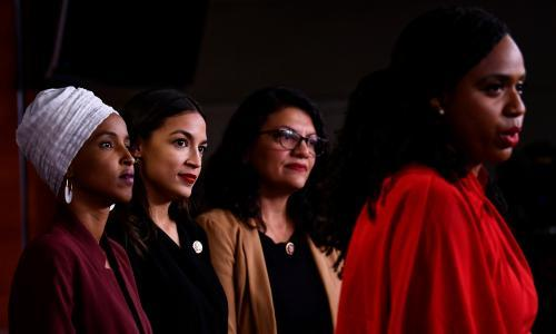 Divided House votes to condemn Trump's racist attack on congresswomen